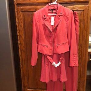 3 pieces! NWT! WHBM dress, jacket and pants.